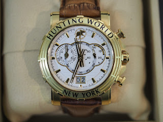 ハンティングワールド HW-913 腕時計 イリスをお買い取り致しました