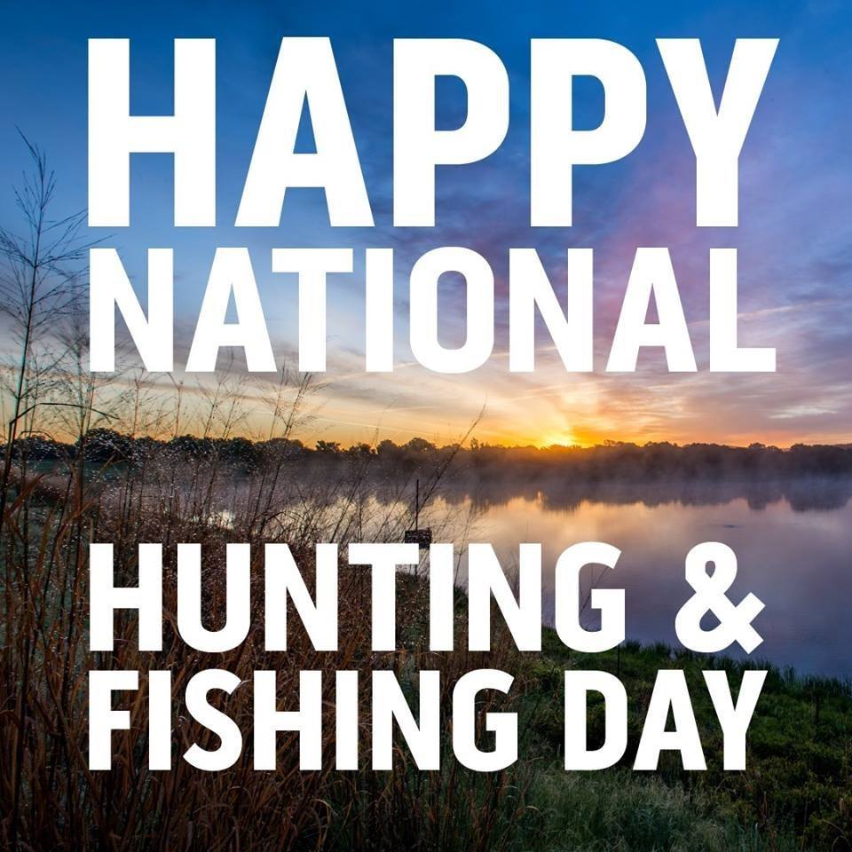 National Hunting and Fishing Day Wishes Awesome Picture