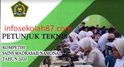 Juknis Kompetensi Sains Madrasah (KSM) 2020