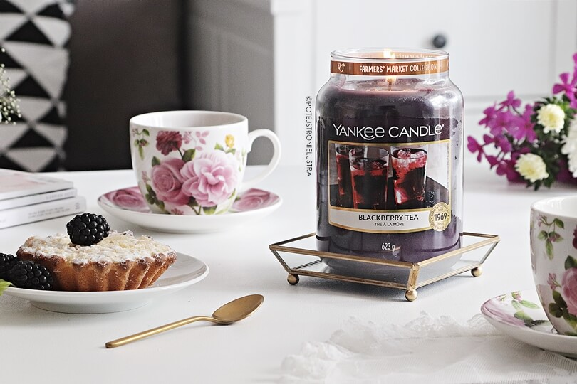 yankee candle blackberry tea 2019 recenzja na blogu