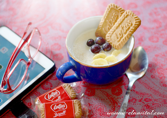 LOTUS BISCOFF BISCUITS WITH OATMEAL