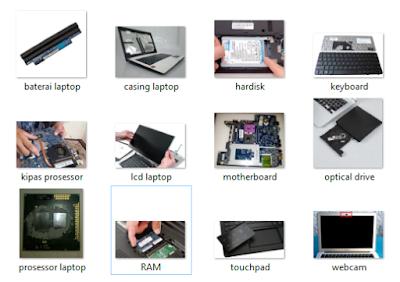 Bagian Bagian Laptop, Notebook, Netbook Dan Fungsinya