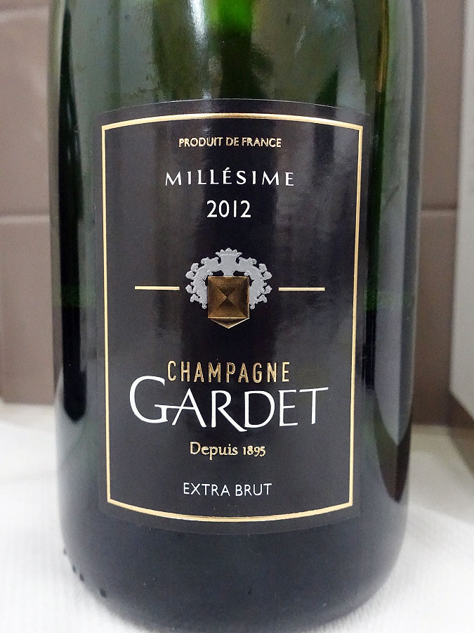 Gardet Millésime Extra Brut Champagne 2012 (90 pts)