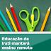 Educação de Irati manterá ensino remoto