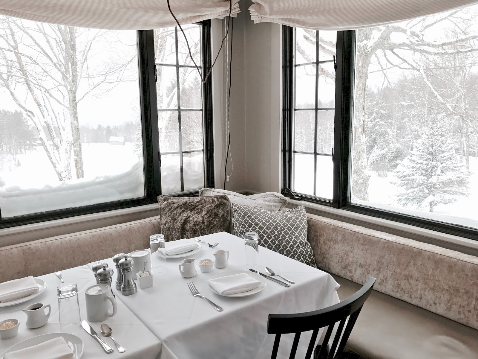 Edson Hill The Dining Room   Stowe Vermont
