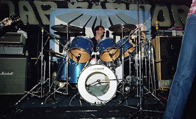Condor on stage at The Soap Factory 1983