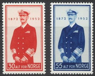 Norway 1952 King Haakon VII
