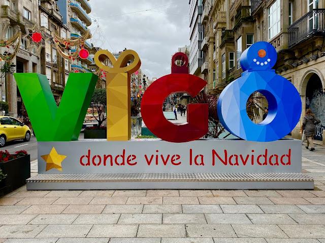 Christmas Cruising Guide Vigo Spain Decorations