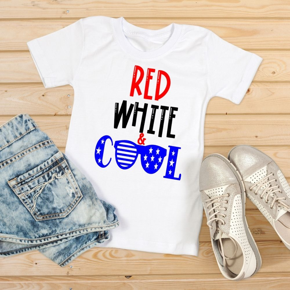 red white and cool svg