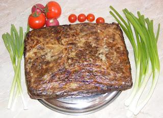 drob de miel, drob de pasti, retete cu miel, preparate din miel, retete de paste, retete de pasti, retete culinare, retete romanesti traditionale pentru masa de pasti,