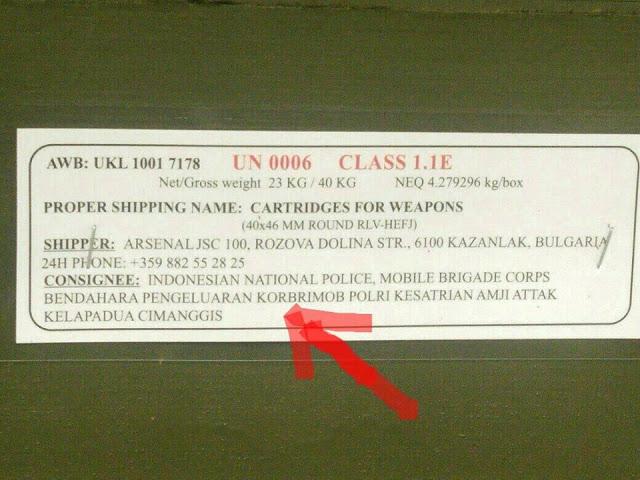senjata2 - Geger! Telah Tiba di Bandara Soetta Senjata Impor, Inikah Yang Dimaksud Panglima TNI?