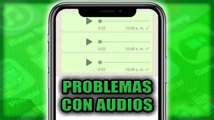 Cómo arreglar el problema al reproducir los audios en WhatsApp