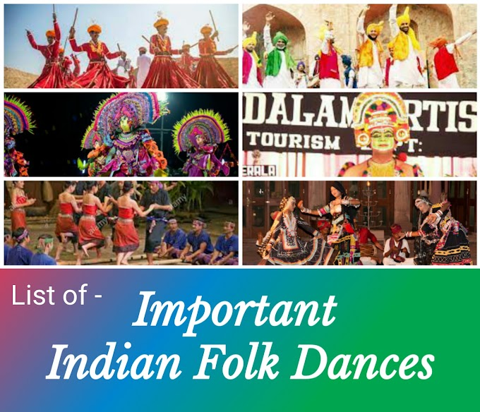 States and Folk Dances: General Knowled