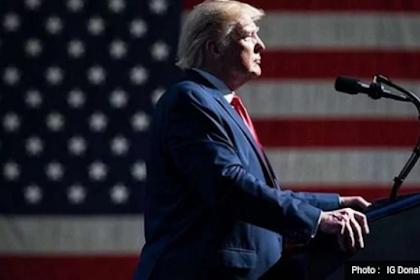 Lheuh Kheun keue Cina, Akhe Buet Donald Trump Suah Lake Tulong Bak Cina