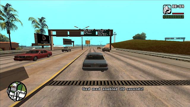 GTA San Andreas Vehicle God Mod For Pc