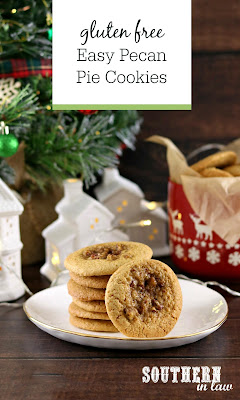 Easy Gluten Free Pecan Pie Cookies Recipe