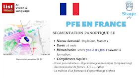 [PFE en France] Segmentation panoptique 3D - Deep learning - 6 mois
