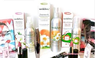 Logo Vinci gratis kit di prodotti Verdelime e PuroBio Cosmetics