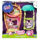 Littlest Pet Shop Small Playset Zebra (#2470) Pet
