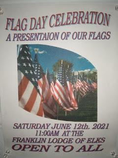 Elks Flag Day Celebration on Saturday - June 12