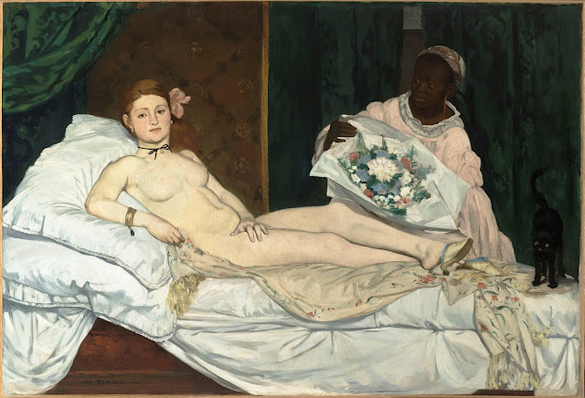 Quadro di Édouard Manet, Olympia