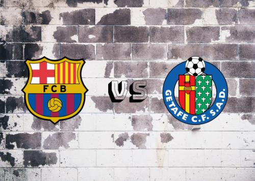 FC Barcelona vs Getafe  Resumen y Partido Completo