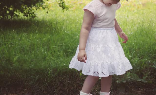 spódniczka dla dziecka DIY