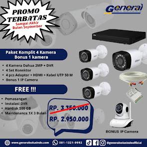 PROMO CCTV 4 KAMERA