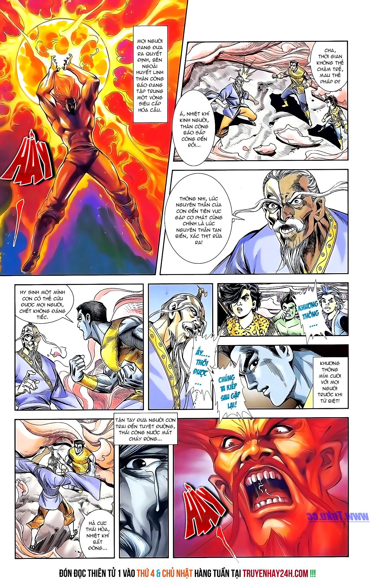 Cơ Phát Khai Chu Bản chapter 154 trang 28