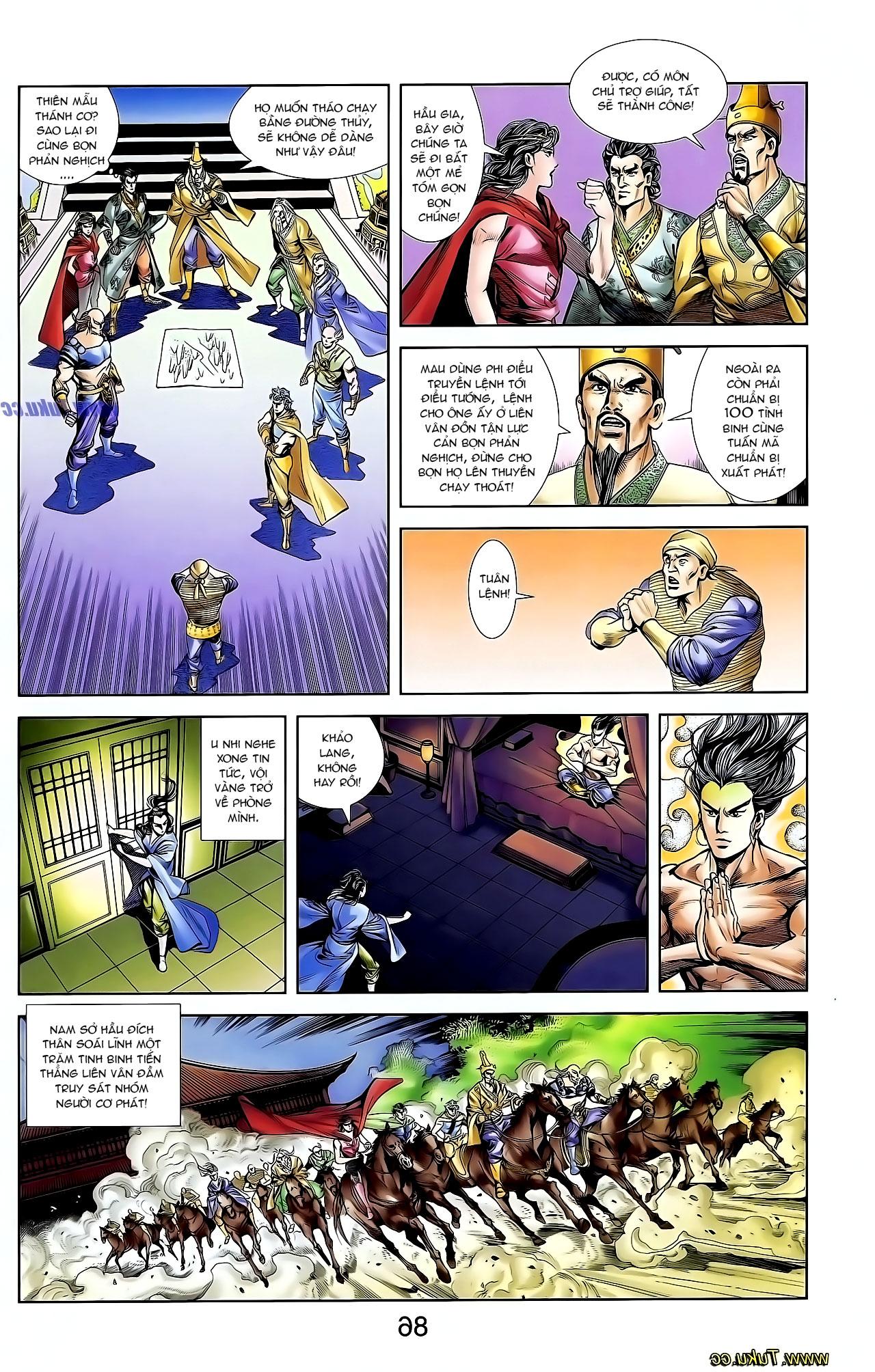Cơ Phát Khai Chu Bản chapter 128 trang 17