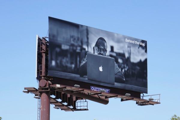Apple Behind the Mac billboard