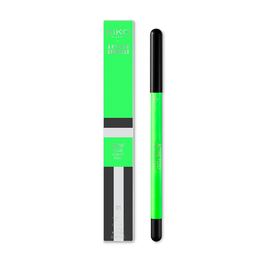 Capsule collection Mayo Active Fluo KIKO MILANO neon eye pencil