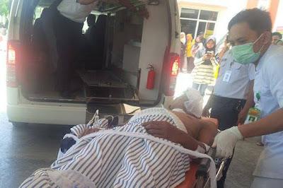 korban mobil honda City yang ditembaki polisi lubuklinggau