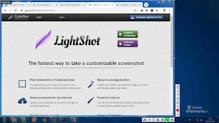 Screenshot Di PC Menggunakan Aplikasi Lightshot
