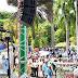 Más de 3,000 adultos mayores y sus familiares participan  en caminata del Conape