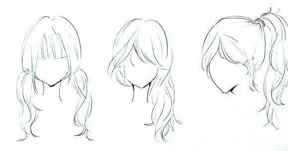 Cara Menggambar Rambut Anime Untuk Pemula Anime Wallpapers