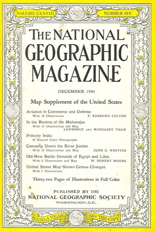 National Geographic December 1940
