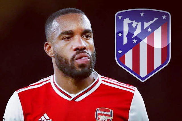La Liga: Lacazette On Atletico Madrid's Radar