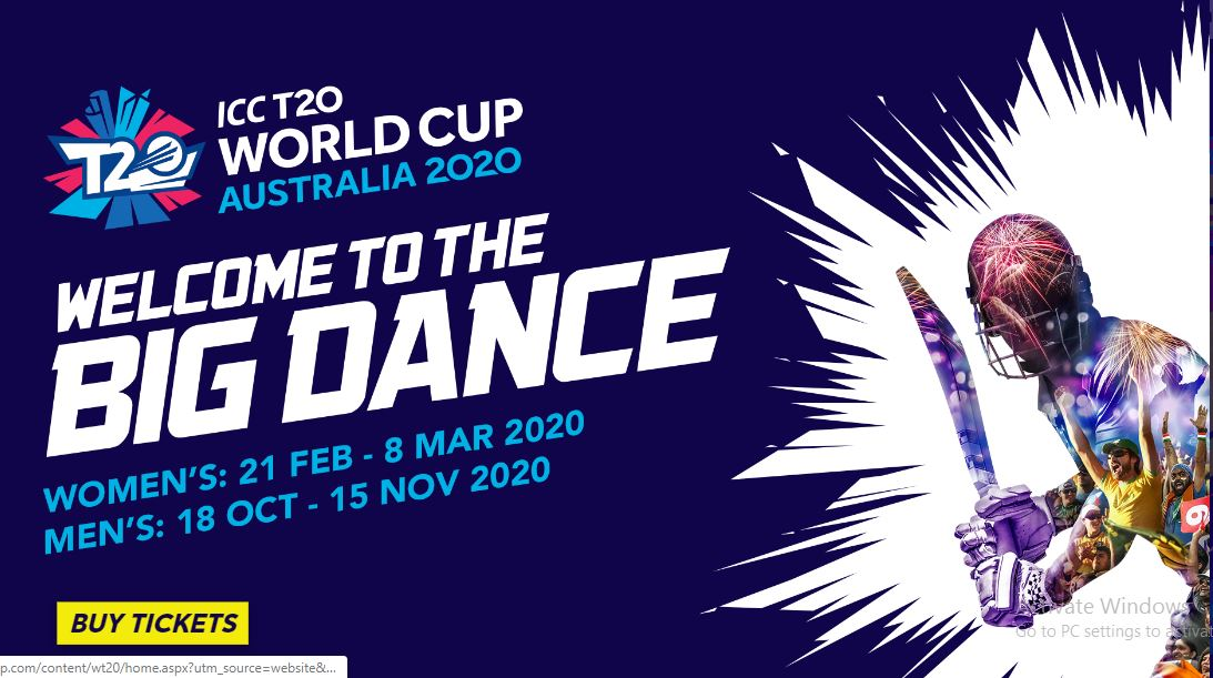 2020 World Cup T20 Time Table.Icc T20 World Cup 2020 Scheduled Timetable Match Venue