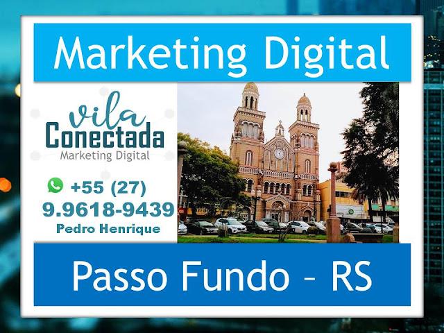 Marketing Digital Profissional Criação Site Loja Virtual Passo Fundo Rio Grande do Sul RS