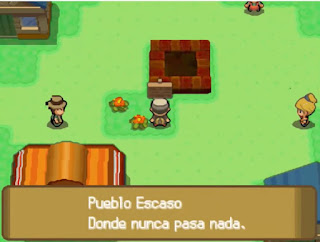 Pokemon Rubi Magma y Rubi Omega para NDS Pueblo Escaso
