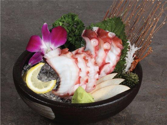 sashimi bach tuoc