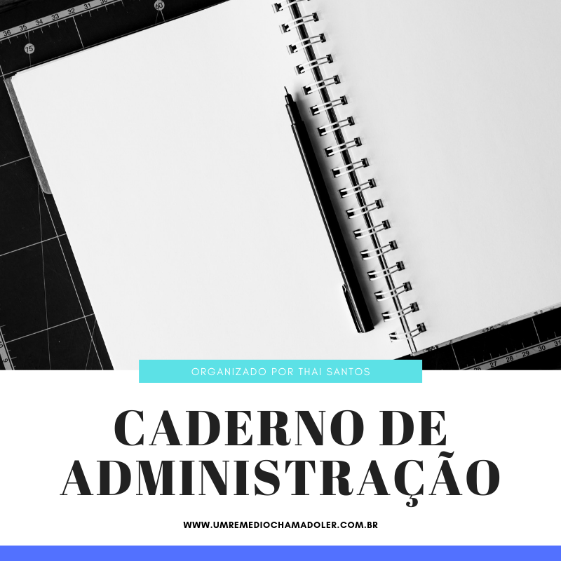 Caderno do 8º semestre