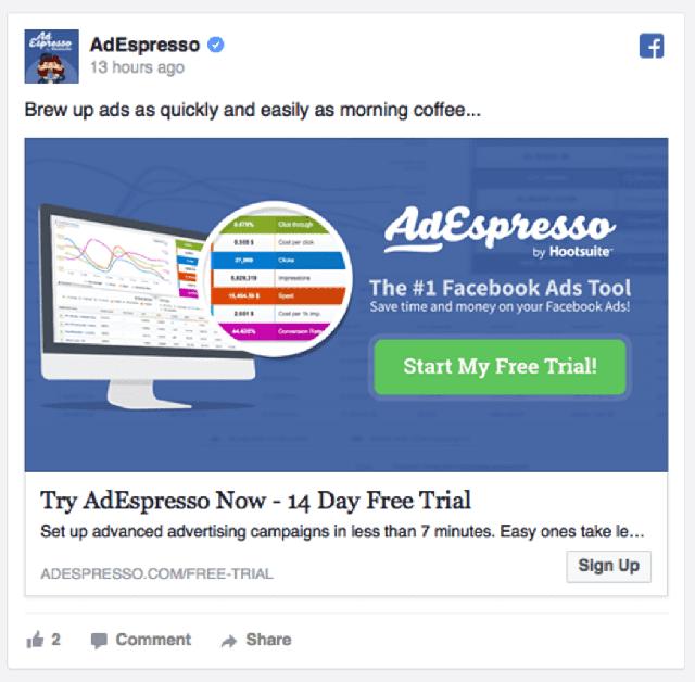iklan gambar tunggal facebook