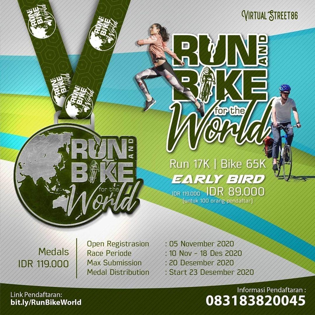 Virtual Run & Bike for The World • 2020