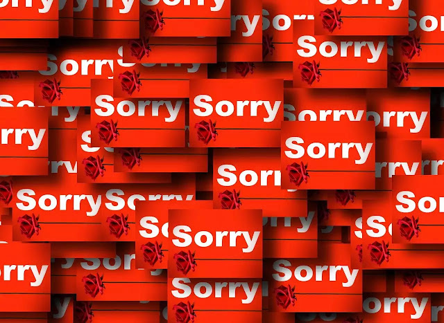 "Over-Apologizing Loses Your Confidence ""Replace I am sorry with Thanks"""