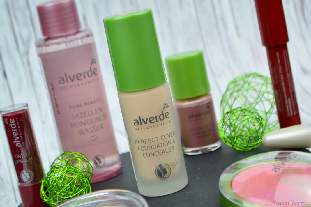 Alverde Sortiment 2017 - Perfect Cover Foundation & Concealer Vanilla