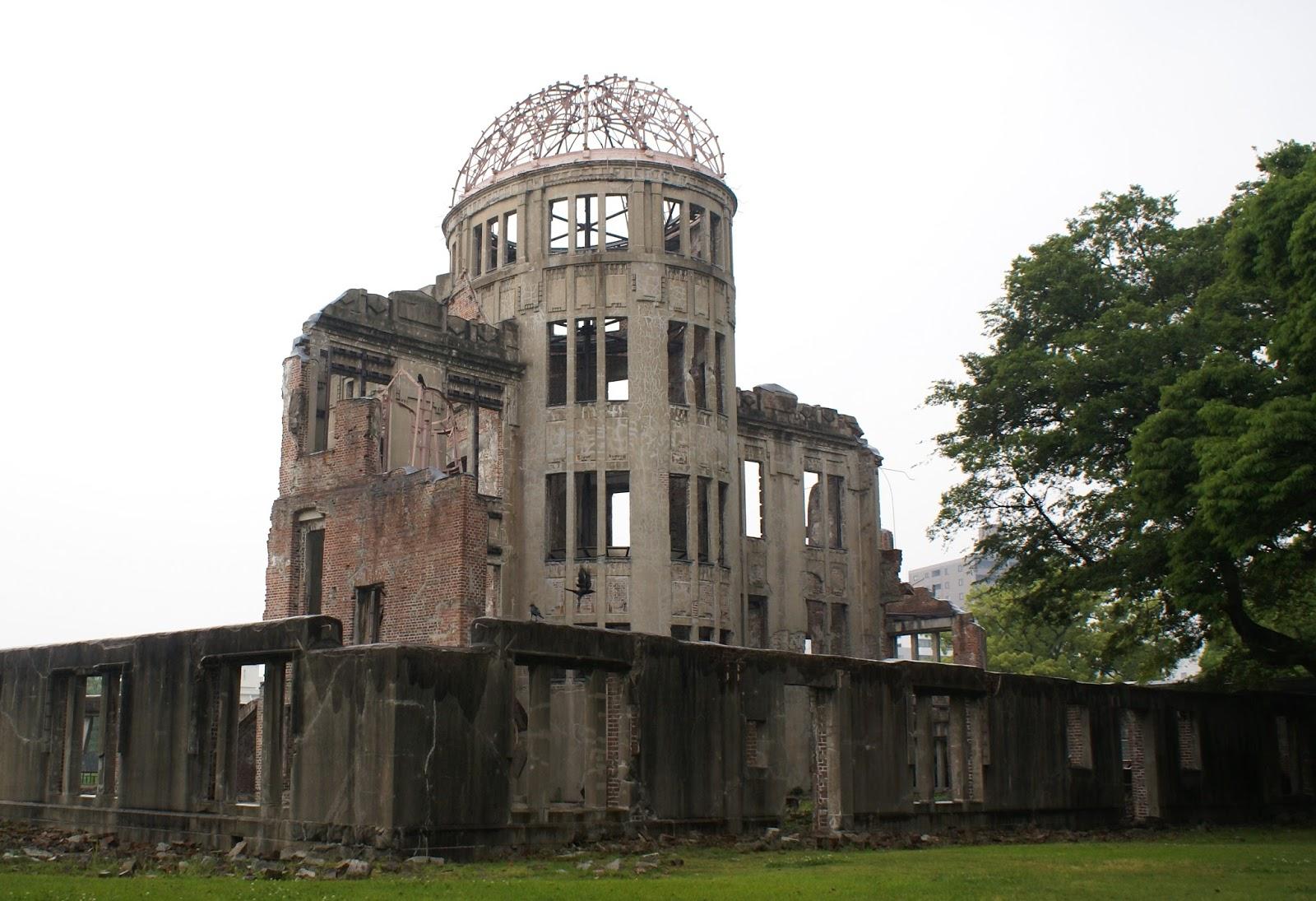 hiroshima genbaku dome japon
