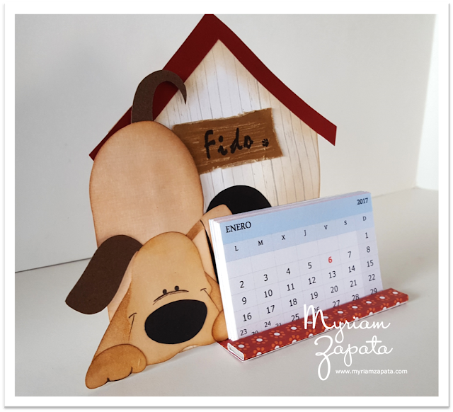 Calendario Fido - Vista lateral