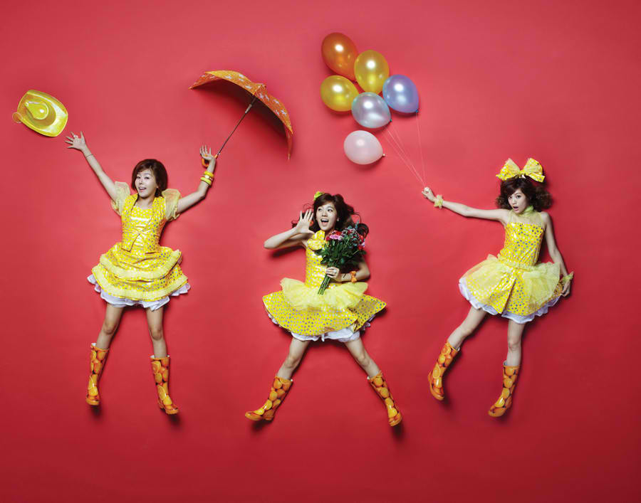Kpop Hotline Orange Caramel Concept Photos For Magic